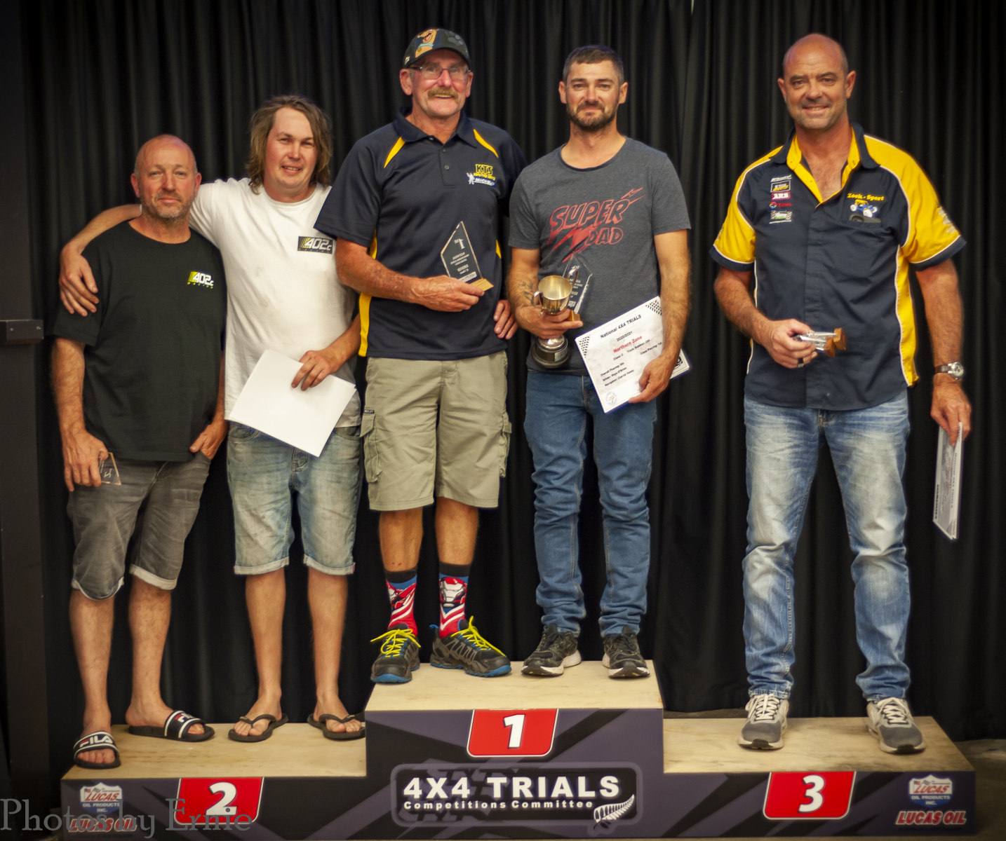 C Class: 2nd Tony Hadland & Shayne Towers, 1st Clarrie Vazey & Rhys O'Brien, 3rd Nathan Fogden & Mike Gibbons