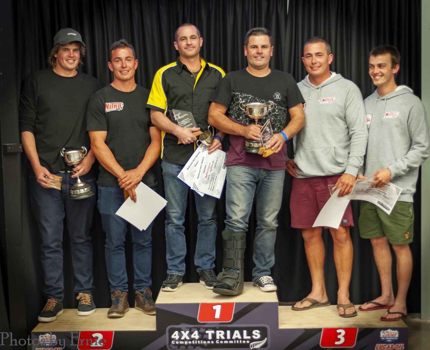 D Class: 2nd Sam Thomsen & Scott Biggs, 1st Greg & Chris McDell, 3rd Jarred Biggs & Fleche Crawford