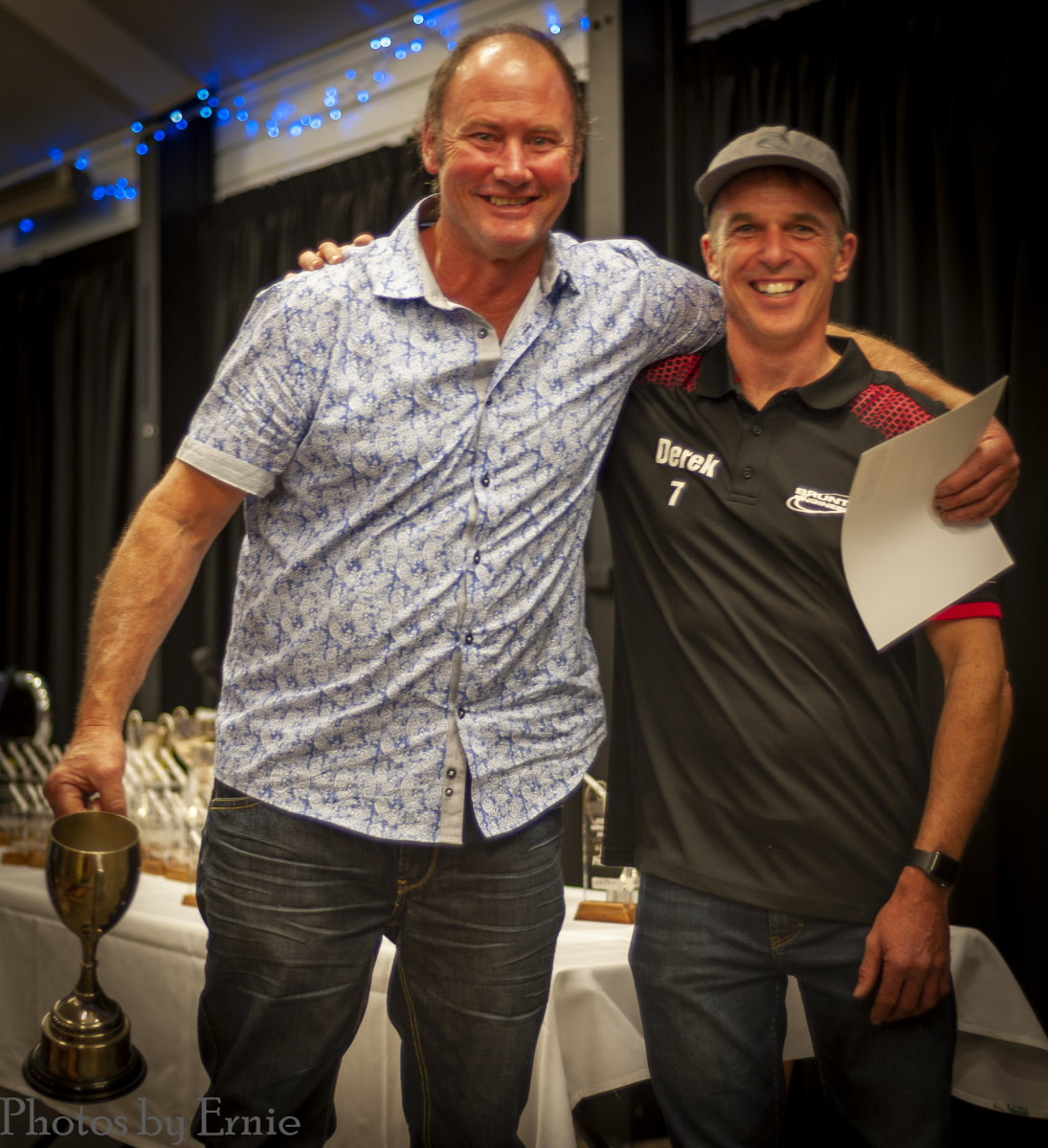 Best Northern Zone Trial: South Waikato 4WD Club, Phil Hobart on the behalf of the club and NCO Derek Smyth