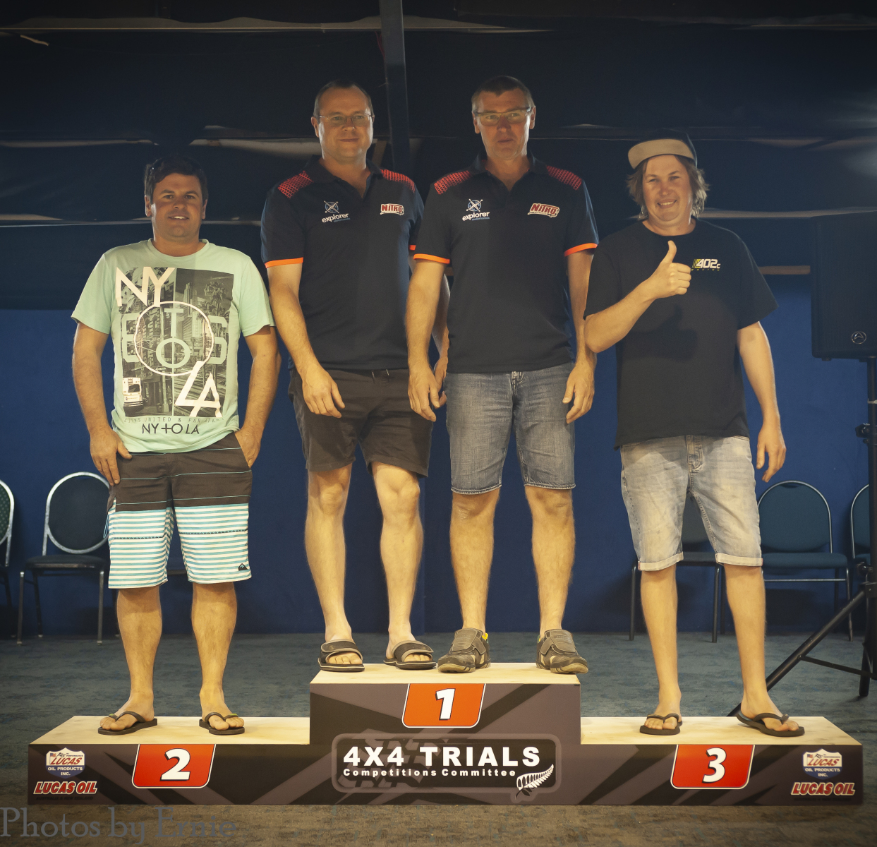 Overall - 2nd Greg McDell, 1st Richard Verner & Neville Mather, 3rd Shayne Towers
