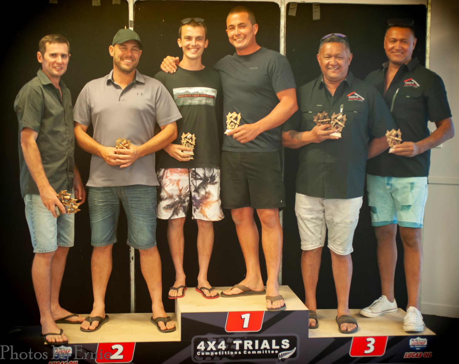D Class - 2nd Chris Tomalin & Russell Luders, 1st Fleche Crawford & Jarred Biggs, 3rd Shane & Reuben Mason