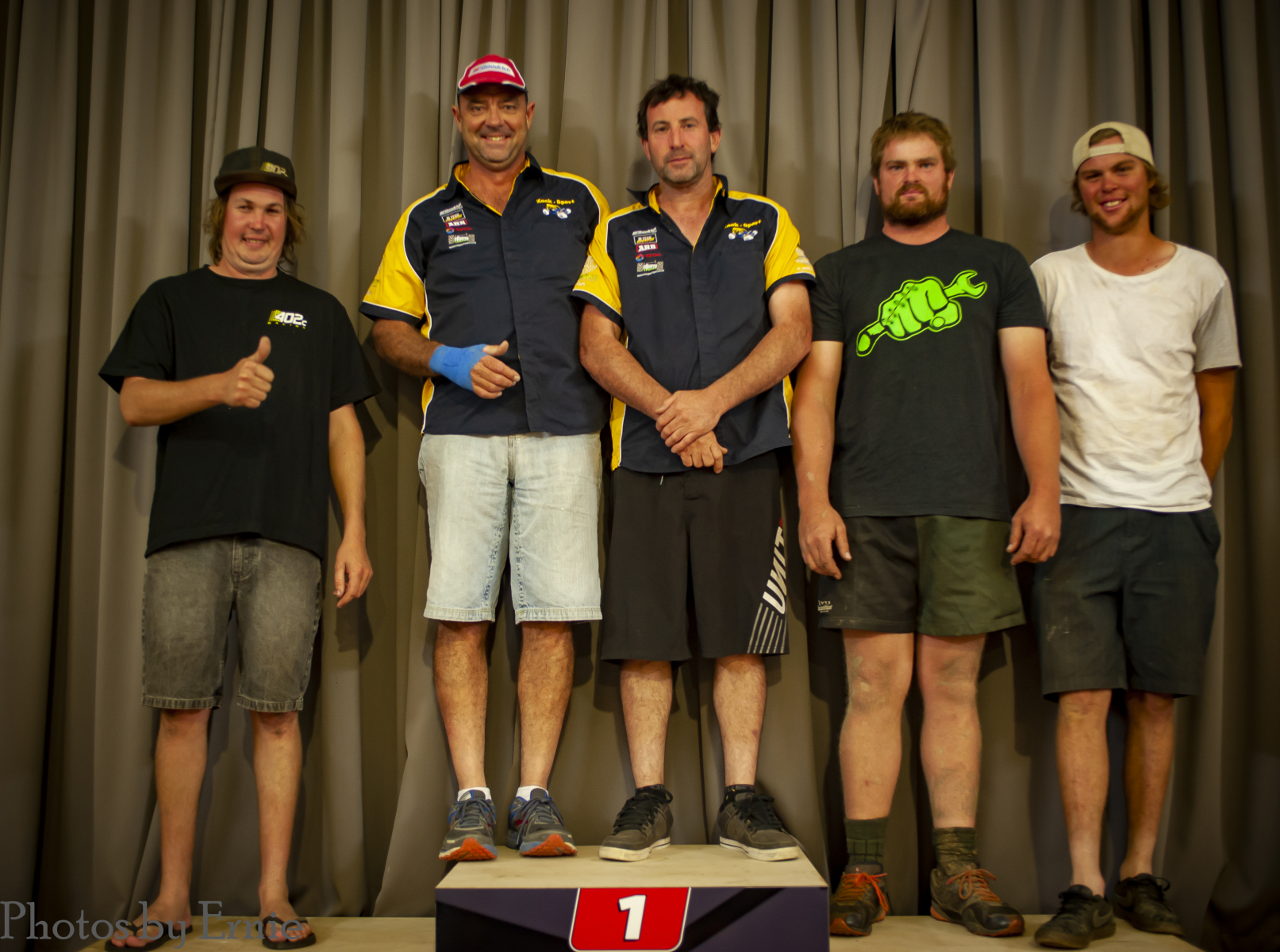 C Class - 2nd Shayne Towers, 1st Nathan Fogden & Mike Gibbons, 3rd Michael Thomsen & Caleb Adlam