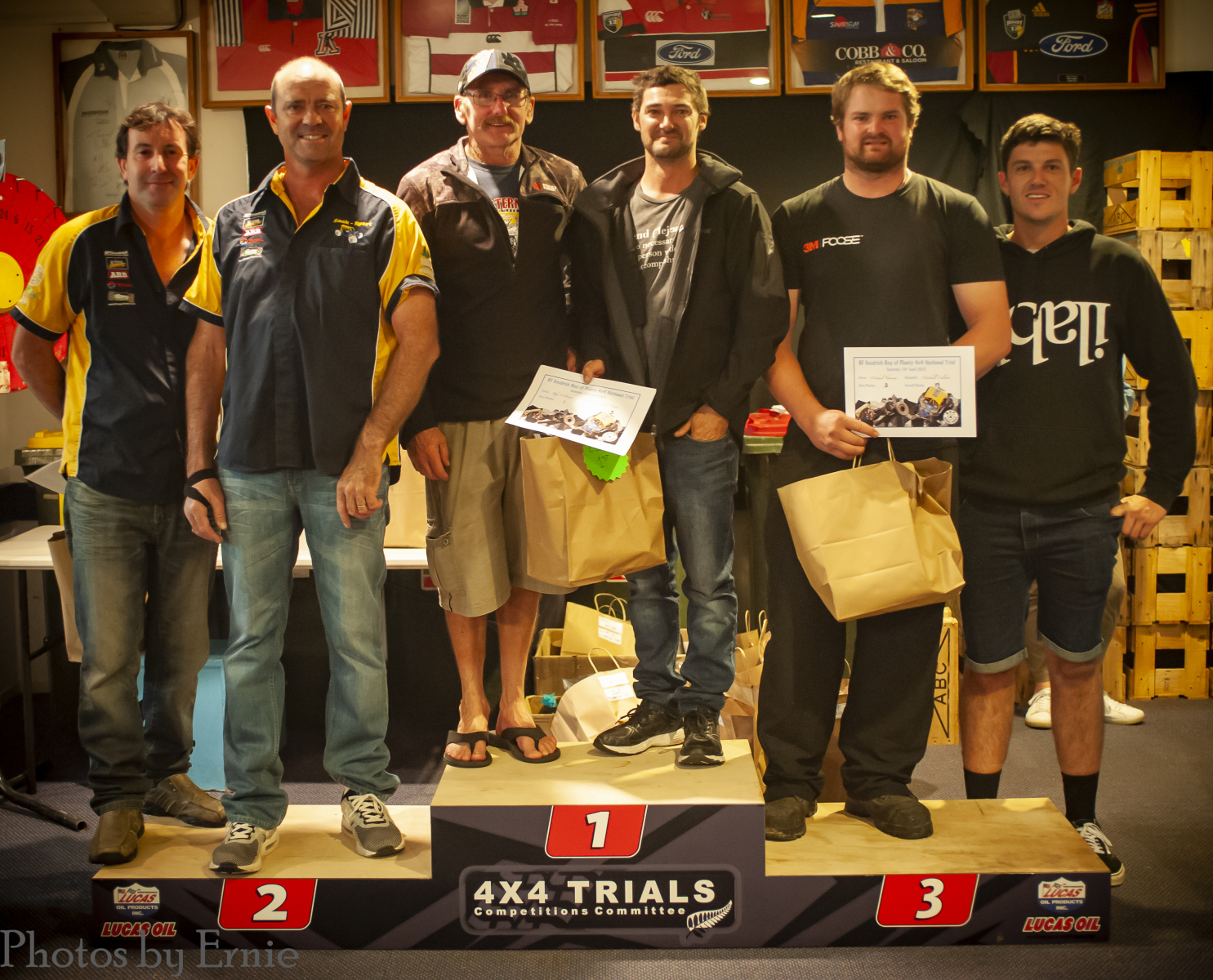 C Class - 2nd Mike Gibbons & Nathan Fogden, 1st Clarrie Vazey & Rhys O'Brien, 3rd Michael Thomsen & Mitchell Caldow
