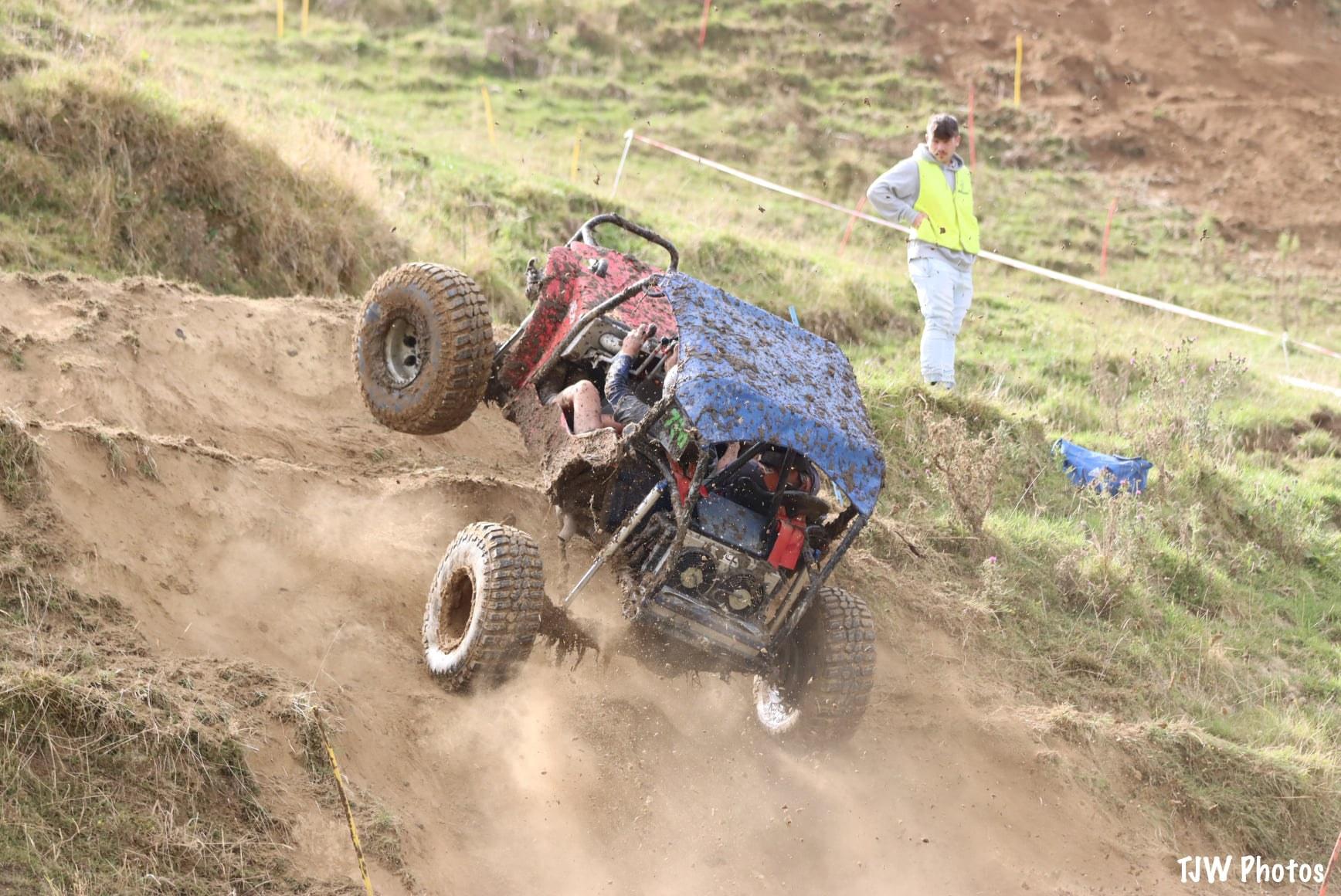 Dean Russell & David van der Shantz catching air